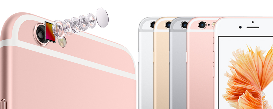 cải tiến camera iPhone 6S