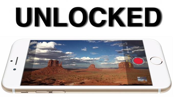 unlock iPhone bằng sim ghép