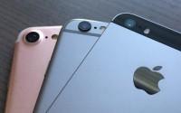 Ảnh thực tế cho thấy sự khác biệt giữa iPhone 7 và iPhone 6s, iPhone SE