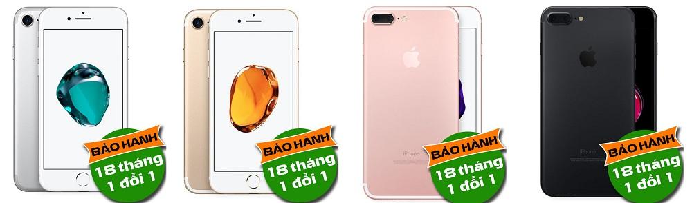 giá iPhone 7 mới giá rẻ bảo hành 18 tháng