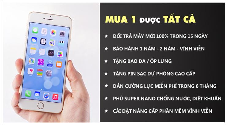 bảng giá iphone 6s mới giá bao nhiêu