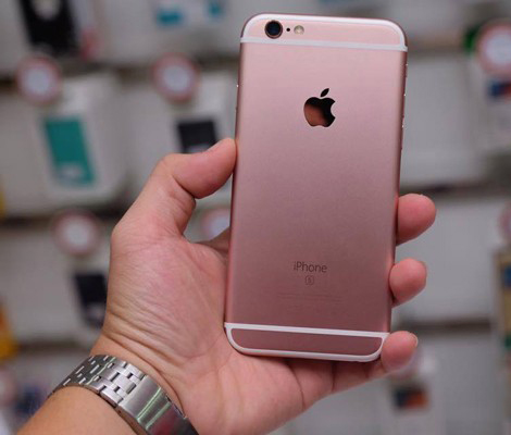 iPhone6S mau hong