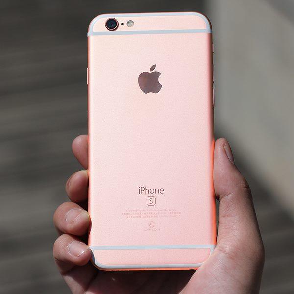 giá bán iPhone 6S màu vàng hồng rose gold