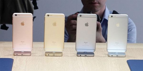 Chênh lệch giá iPhone 6s giữa các màu, các bản là bao nhiêu ?