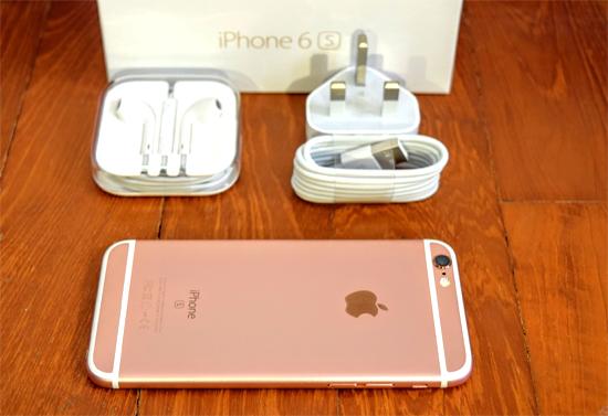 iPhone 6s Lock Nhật màu vàng hồng rose gold