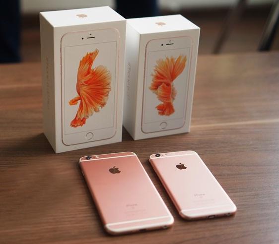 iphone 6s màu hong 1