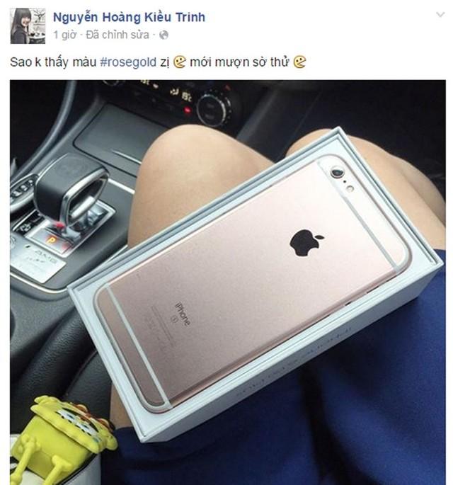 Độ nóng iPhone 6s màu hồng xách tay chính hãng tại Việt Nam