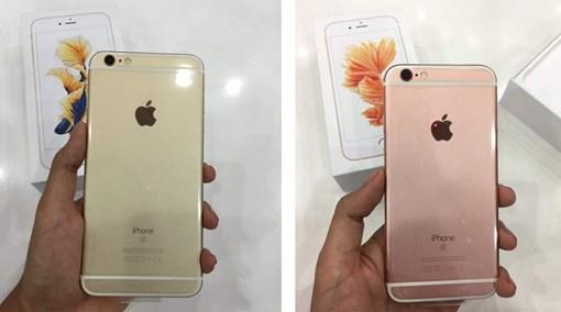iphone 6s mau vang