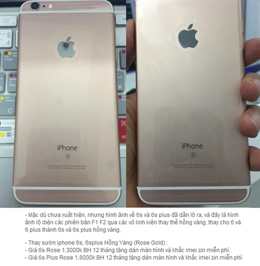 iphone 6s thay vo