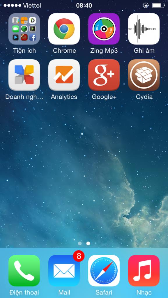 cài đặt phần mềm theo dõi iPhone 5s/6s/6sPlus