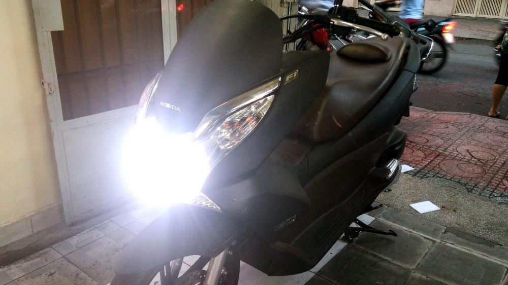 độ đèn led xe máy