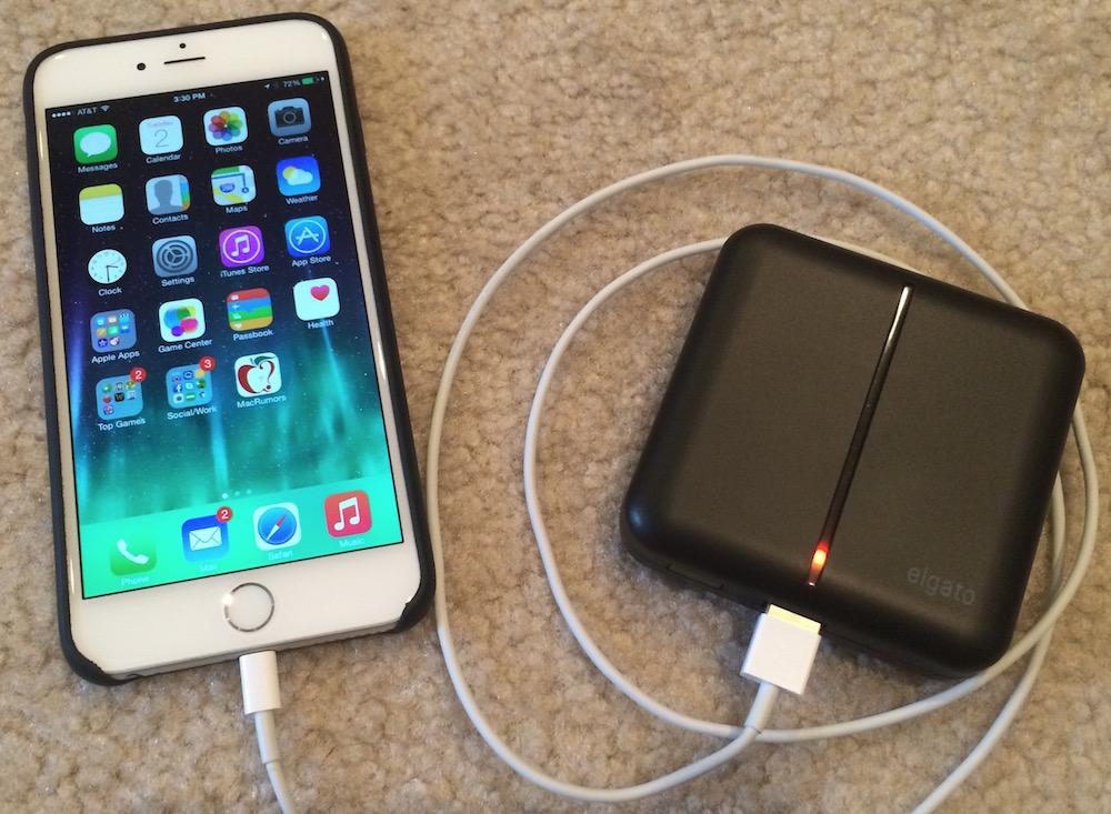 Vừa sạc iPhone 6 vừa sử dụng