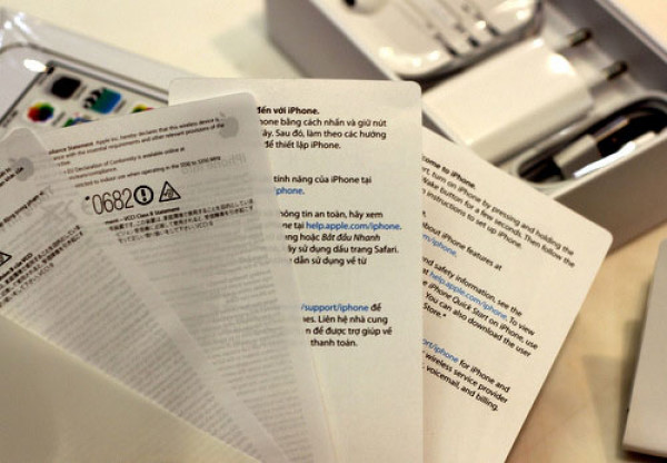 Mẹo phân biệt điện thoại iPhone 8 xách tay 64 Gb với hàng công ty 6