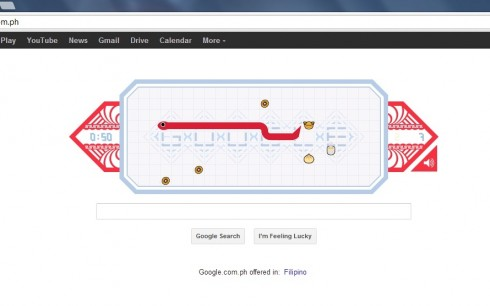 googledoodlesnake