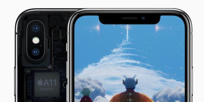man hinh iphone x dep