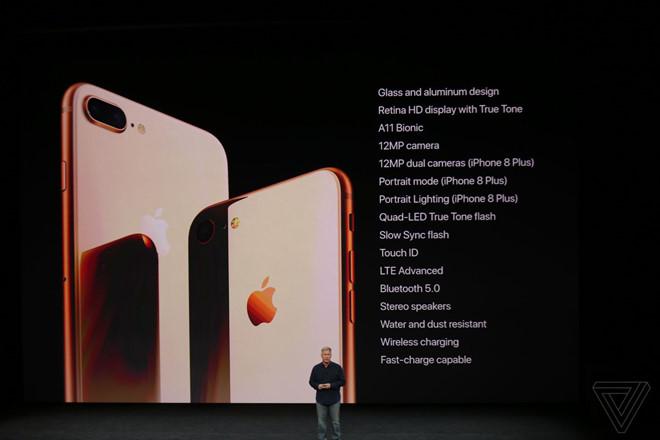 thông số iphone 8
