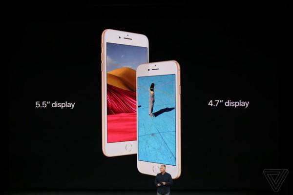 iphone 8 bao nhiêu inch