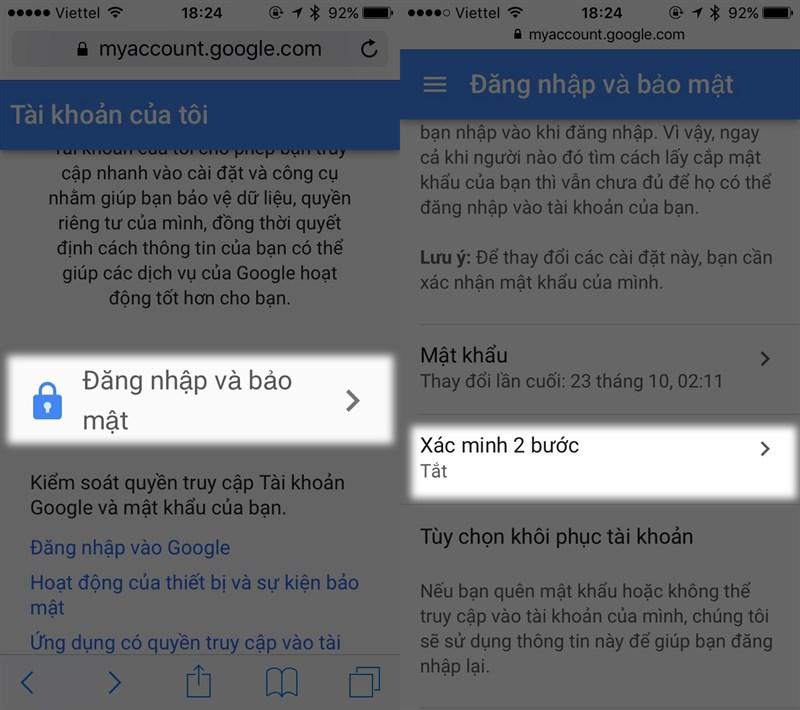 Cach Kich Hoat Bao Mat Hai Lop Cho Facebook Google Icloud Cuc Ky An Toan 10