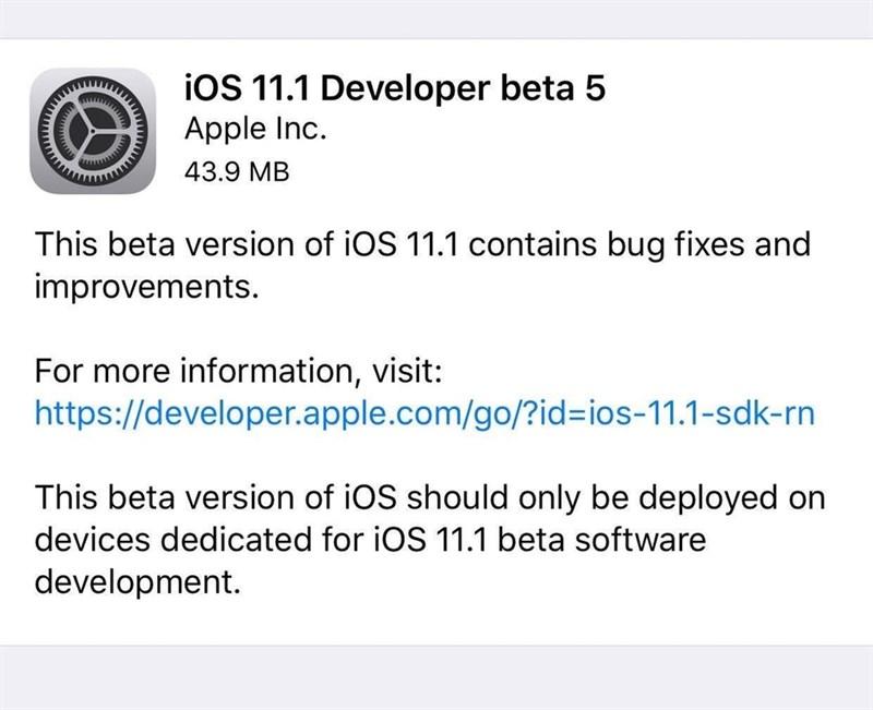 Huong Dan Cai Dat Ios 11 1 Beta 5 Ban Cap Nhat Cuoi Thang 10 Cua Apple 02