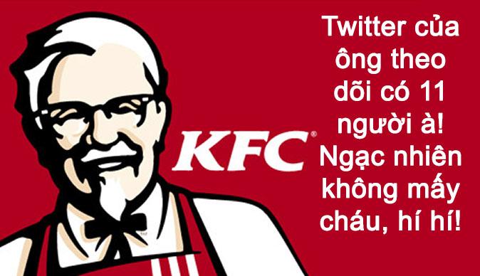 Vi Sao Twitter Cua Kfc Chi Theo Doi Co 11 Nguoi 01