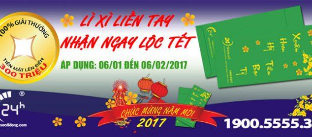 Nhan Ngay Loc Tet Li Xi Lien Tay Chao Don Nam Moi 02