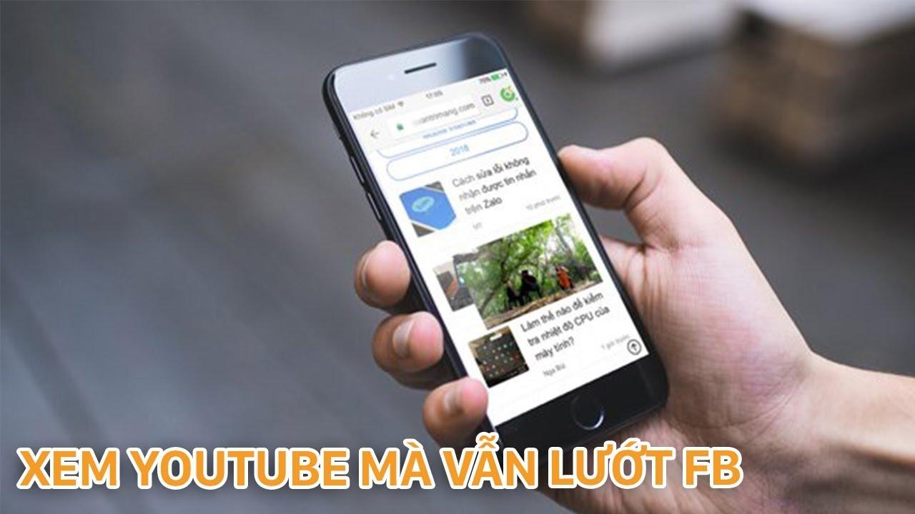 Cách vừa xem Youtube vừa lướt Web, Facebook trên iOS rất đơn giản hình 1