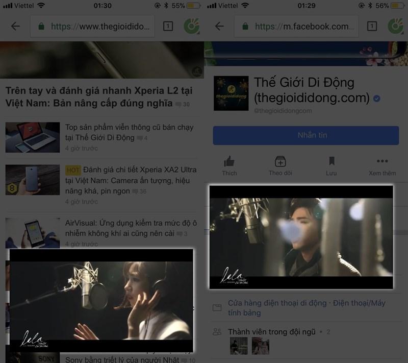 Cach Vua Xem Youtube Vua Luot Web Facebook Tren Ios Rat Don Gian 04