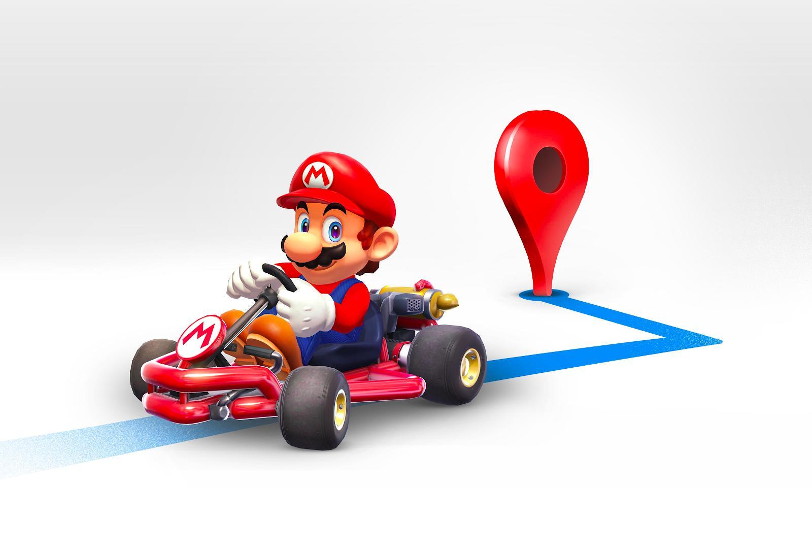 Google Maps Phien Ban Moi Nhat Se Co Nhan Vien La Mario Chi Duong 02
