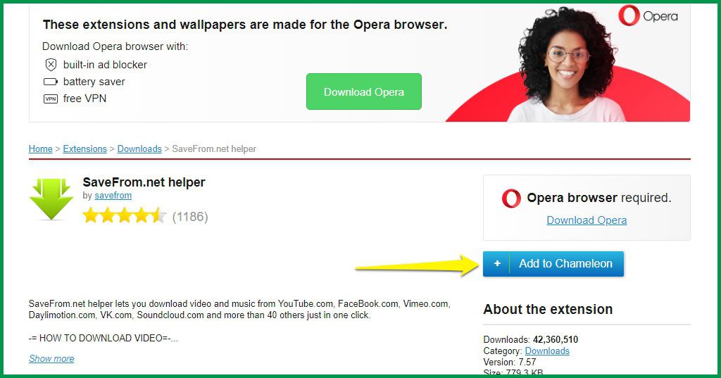 Thu Thuat Tai Video Tren Youtube Facebook Dailymotion Danh Cho Chrome Firefox Va Opera 05