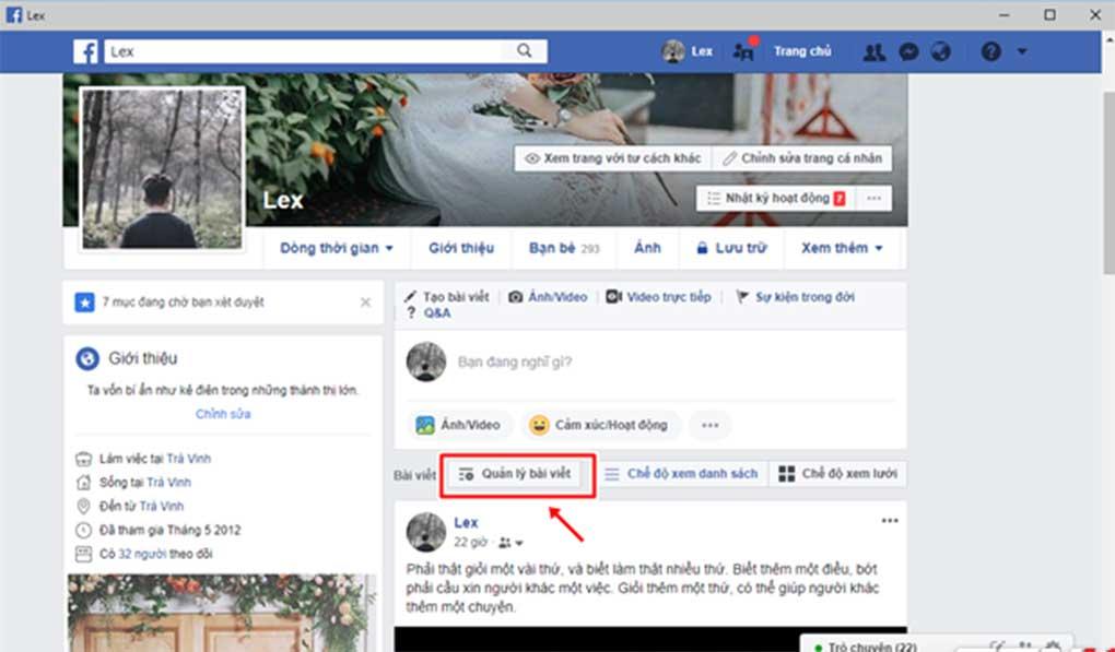 Xoa Nhieu Bai Viet Cung Mot Luc Voi Tinh Nang Moi Cua Facebook 01