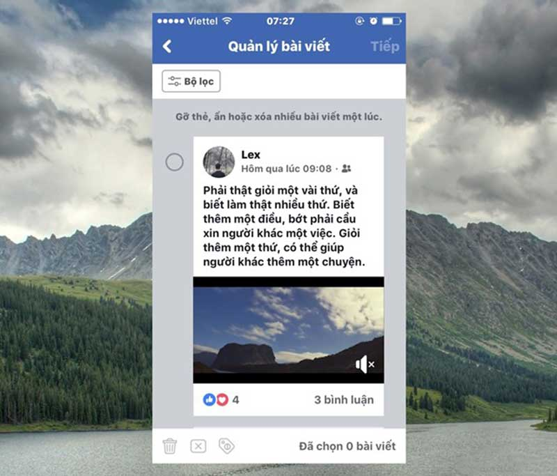 Xóa Nhiều Bài Viết Cùng Một Lúc Với Tính Năng Mới Của Facebook 12