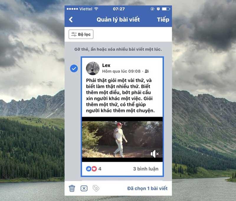 Xóa Nhiều Bài Viết Cùng Một Lúc Với Tính Năng Mới Của Facebook 13