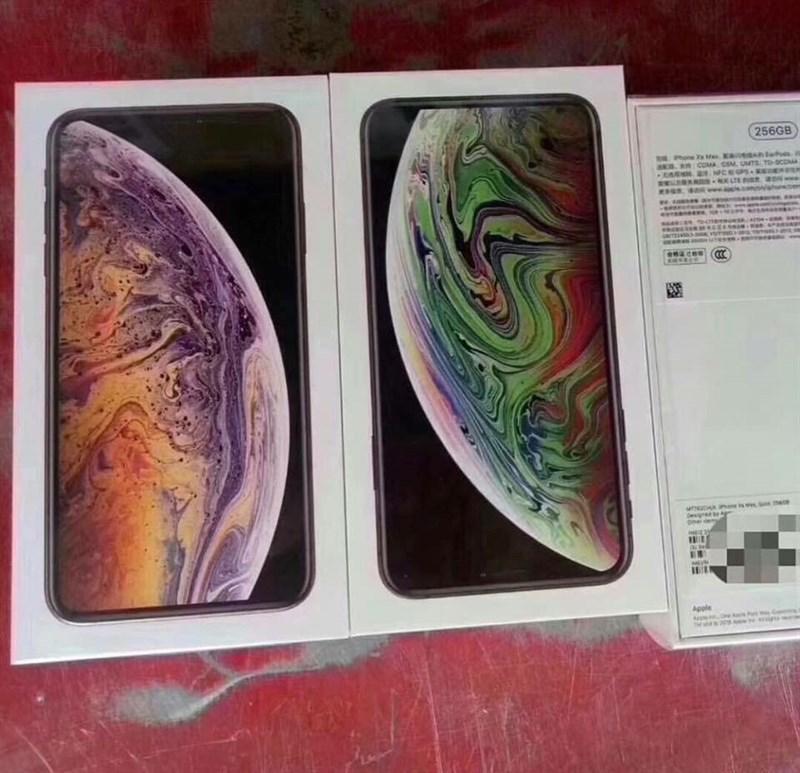 Nhung Hinh Anh Dau Tien Cua Iphone Xs Max Phien Ban 2 Sim Da Xuat Hien 02