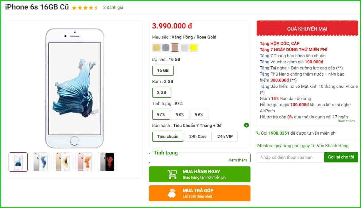 Meo Kiem Tra Iphone 6s Cu Chuan Khong Can Chinh 14