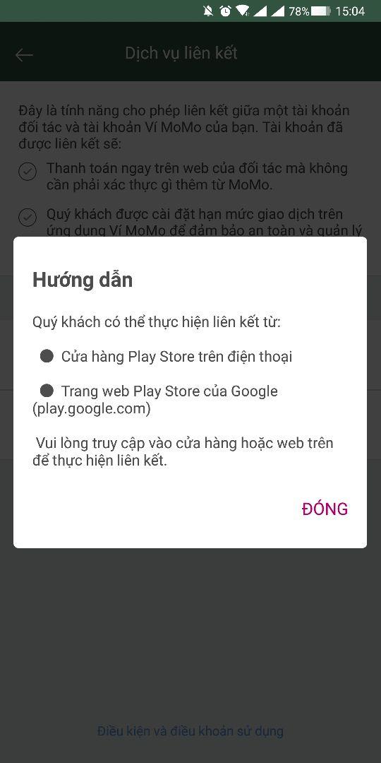 Huong Dan Mua Ung Dung Tren Google Play Tren Vi Momo Don Gian 01