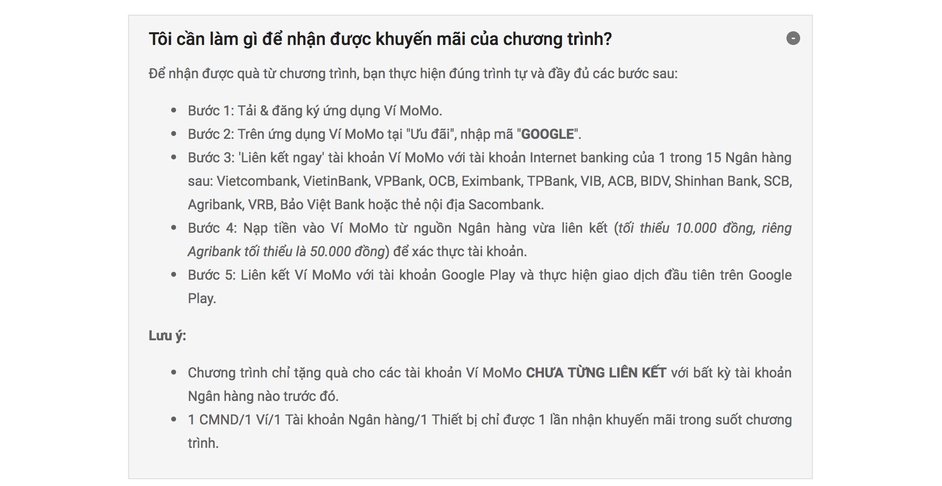 Huong Dan Mua Ung Dung Tren Google Play Tren Vi Momo Don Gian 05