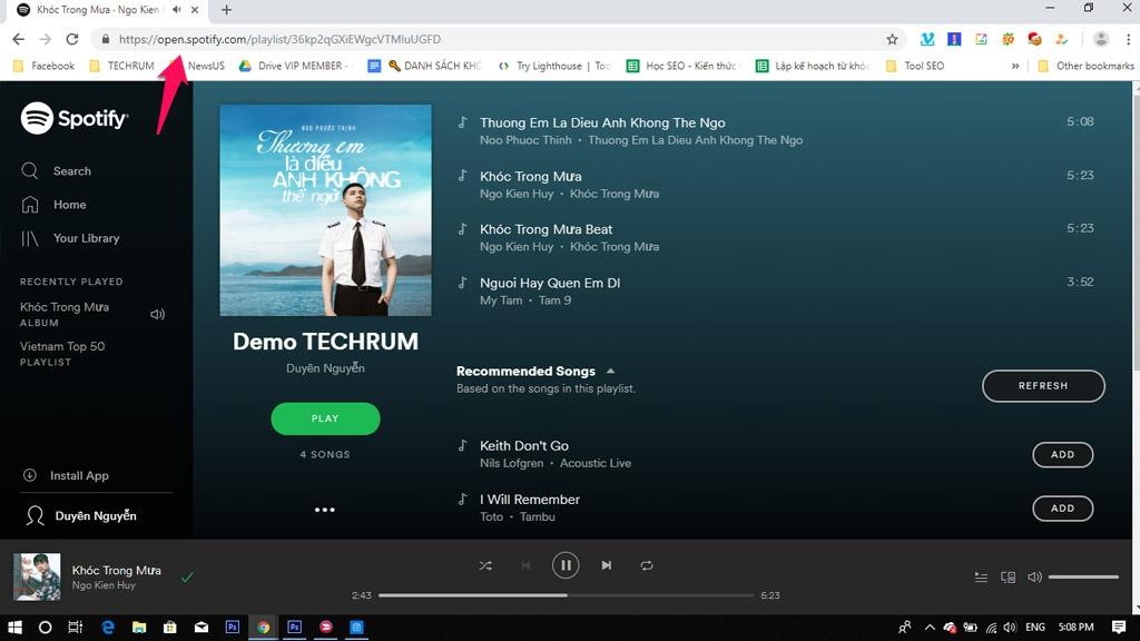 Meo Tai Ve Toan Bo Bai Hat Tu Spotify Music Cuc Nhanh Chong 06