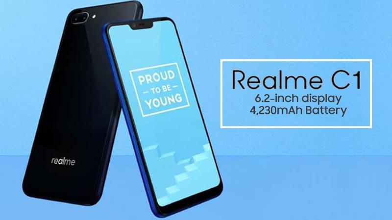 Oppo Realme C1 Ra Mat Snapdragon 450 Pin Khung 4 230 Mah Gia Chi 2 4 Trieu 04