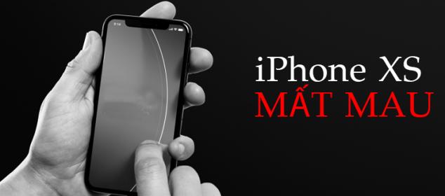 Da Co Cach Khac Phuc Man Hinh Iphone Xs Mat Mau Nhanh Chong 01
