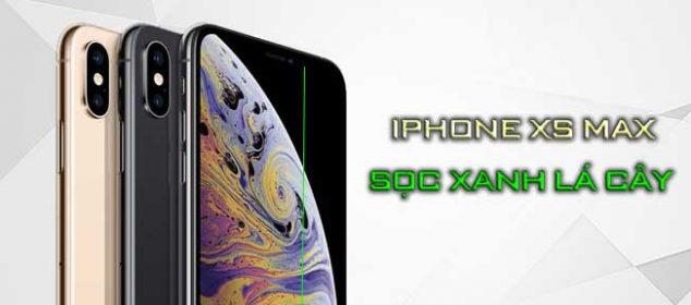 Huong Dan Cach Khac Phuc Iphone Xs Max Co Soc Doc Xanh Man Hinh 01