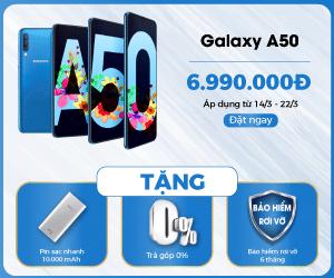 Đặt mua Samsung Galaxy A50 tại 24hStore