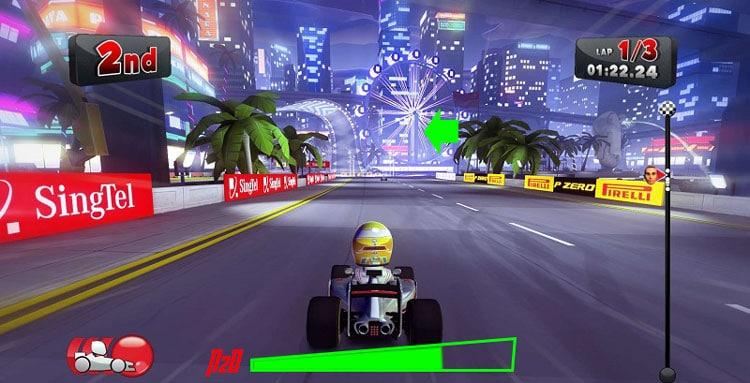 trò chơi F1 Race Stars