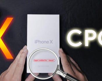 Xác định iPhone tân trang