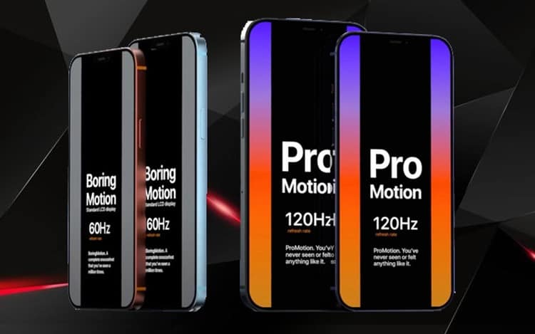 màn hình Pro Motion 120Hz