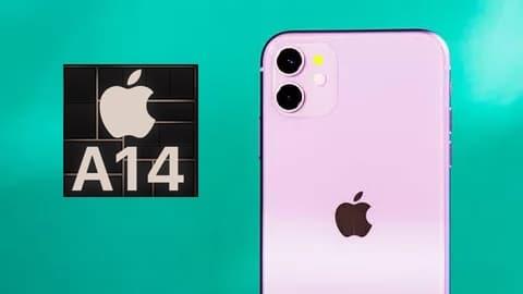 vi xử lý A14 Bionic iPhone 12 Mini